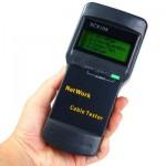 Кабельный LAN тестер Ethernet SC8108 с ЖК дисплеем